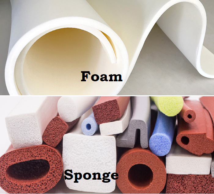 Foam Vs Sponge Rubber Comparison